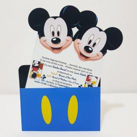 Invitatie Gemeni PRO 2 Mickey Var 3