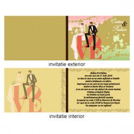 Invitatie Nunta Iubire var 3