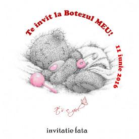 Invitatii Botez Rotunde Me to You