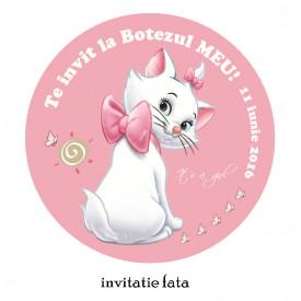 Invitatii Botez Rotunde Pisicile Aristocrate