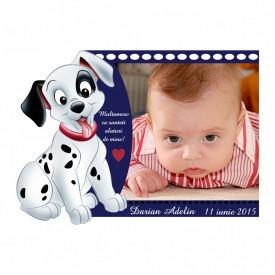 Magnet Contur Dalmatian 7