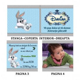 Marturie Botez Carticica 6 Foto Bugs Bunny