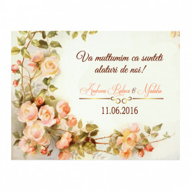 Marturie Nunta Magnet Wedding Flowers