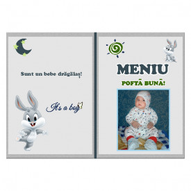 Meniu Botez cu Foto Bugs Bunny