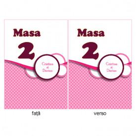 Nr de masa Nunta NRMN46