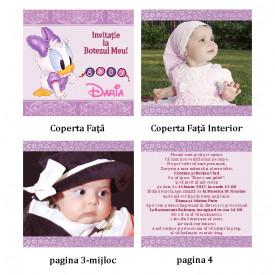 Invitatie Botez Carticica Daisy