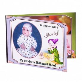 Invitatie Botez Dubla Pitic