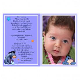 Invitatie Botez Magnetica Winnie The Pooh 4