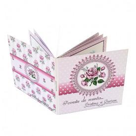Invitatie Nunta Carticica Roses