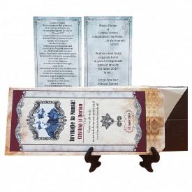 Invitatie Nunta Ciocolata Caragiale
