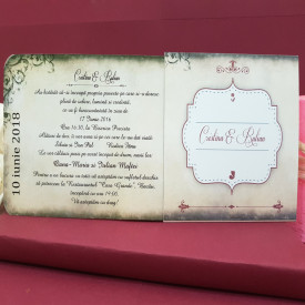 Invitatie Nunta DIVA Bujori 2