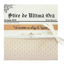 Invitatie Nunta Florale Jurnal