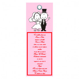 Invitatie Nunta Label INL42