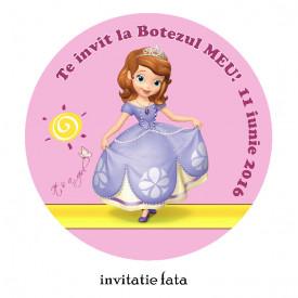 Invitatii Botez Rotunde Sofia 2