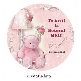 Invitatii Botez Rotunde Ursulet