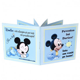 Marturie Botez Carticica 6 Foto Mickey Mouse 2