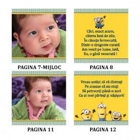Marturie Botez Carticica 6 Foto Minions