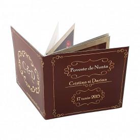 Marturie Nunta Carticica Chocolate