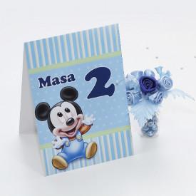 Nr de Masa Botez Mickey Mouse 1