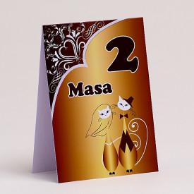 Nr de masa Nunta NRMN56