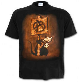 Tricou decolorat personalizat Sobo Anarchy