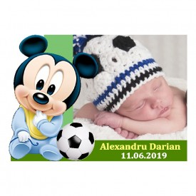 Magnet Contur Mickey Mouse 22