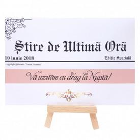 Invitatie Nunta PRO Jurnal