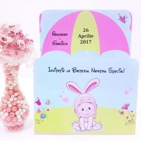 Invitatie Botez Bebelus 1
