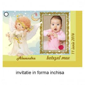 Invitatie Botez Ingeras Disney 3