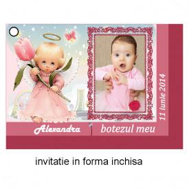Invitatie Botez Ingeras Disney 5