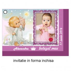 Invitatie Botez Ingeras Disney 7