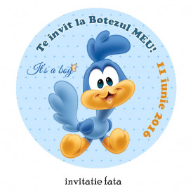 Invitatie Botez Rotunda Road Runner