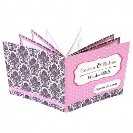 Invitatie Nunta Carticica Pink