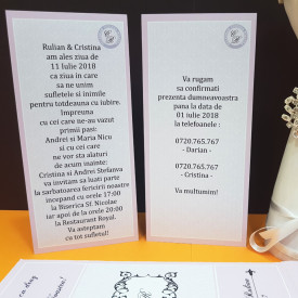 Invitatie Nunta Ciocolata Iubire