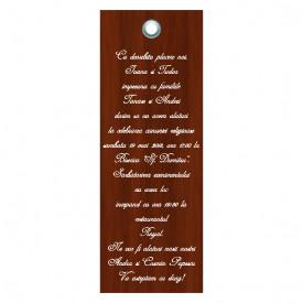 Invitatie Nunta Label INL39