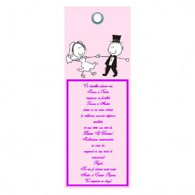 Invitatie Nunta Label INL49