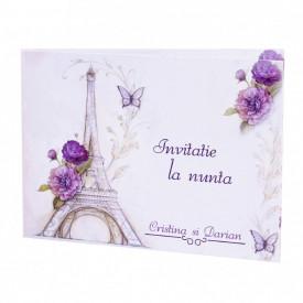 Invitatie Nunta Paris