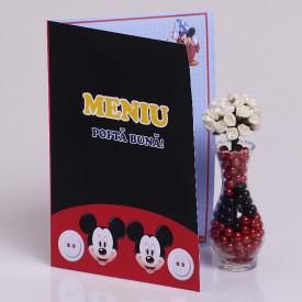 Meniu Botez Gemeni Simplu Mickey Mouse 3