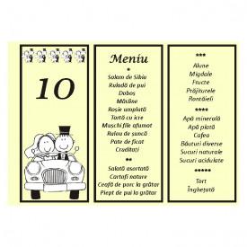 Meniu Nunta MN11