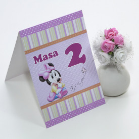 Nr de Masa Botez Minnie Mouse 1