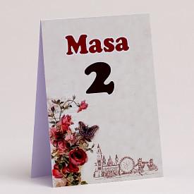 Nr de masa Nunta NRMN62