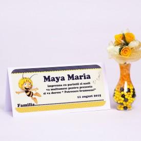 Plic Botez Maya Albinuta