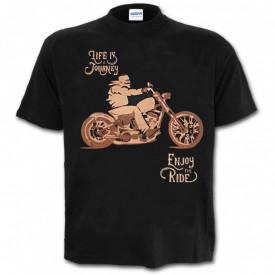 Tricou decolorat personalizat Moto Ride