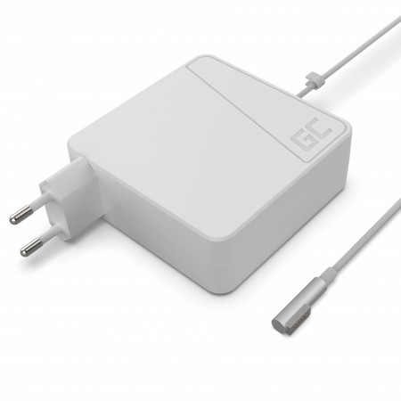 Green Cell Charger AC Adapter for Apple Macbook 85W / 18.5V 4.5A / Magsafe