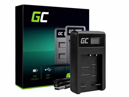Incarcator BC-CSG Green Cell® pentru Sony NP-BG1/NP-FG1, DSC H10, H20, H50, HX5, HX10, T50, W50, W70