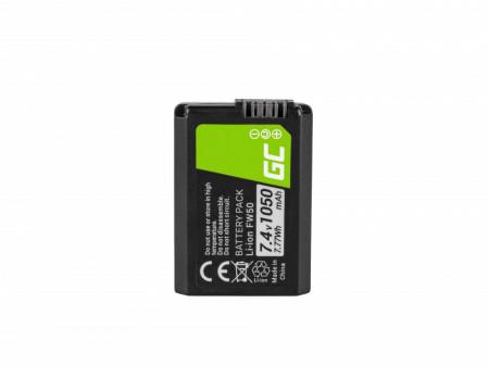 Baterie camera foto FW50 pentru Sony Alpha A7, A7 II, A7R, A7R II, A7S, A7S II, A5000, A5100, A6000, A6300, A6500 7.4V 1050mA