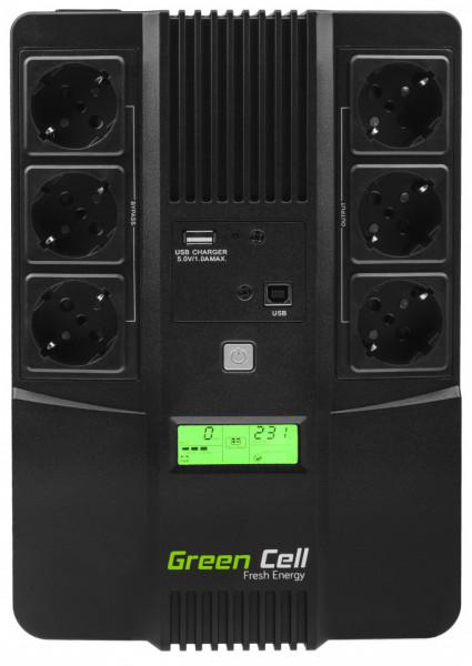 Green Cell ® UPS AiO 800VA LCD