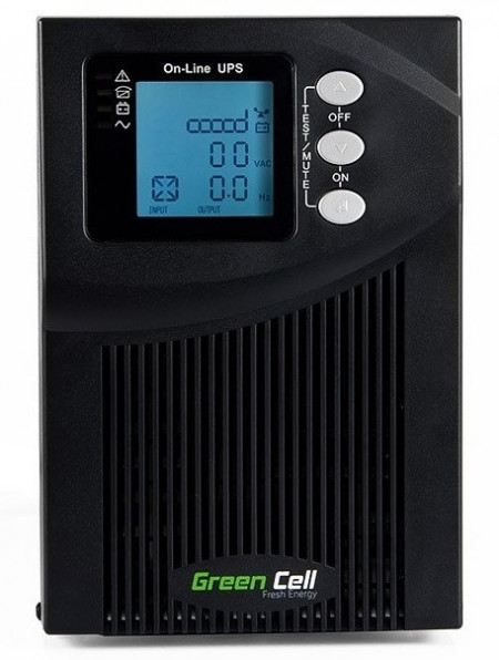 Green Cell ® UPS Online MPII 1000VA LCD