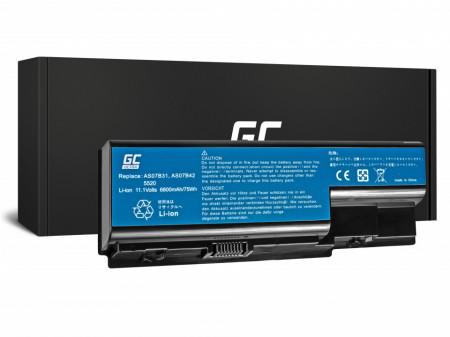 Baterie laptop seria ULTRA pentru Acer Aspire 5520 AS07B31 AS07B32 / 11,1V 6800mAh