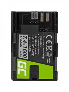 Baterie camera foto LP-E6 pentru Canon EOS 70D, 5D Mark II/ III, 80D, 7D Mark II, 60D, 6D, 7D 7.4V 1600mAh